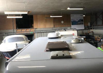 Dak airco installatie
