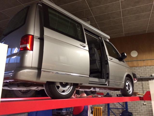 Verwarming vervanging Westfalia California VW