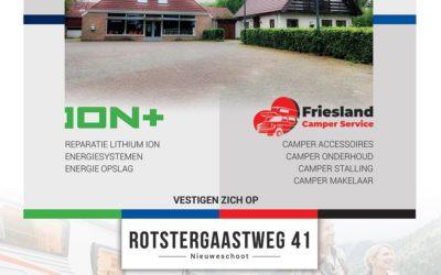 Friesland Camper Service gaat verhuizen